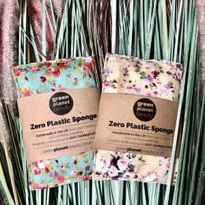 Zero Plastic Body Sponge Wash Cloths
