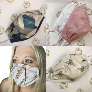 100% Cotton Reusable Face Masks