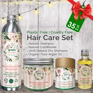 Plastic Free Hair Care Set