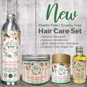 Plastic Free Hair Care Set