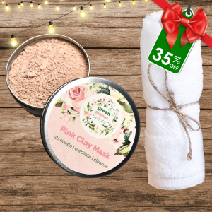 Pink Clay Mask Cleanse Kit