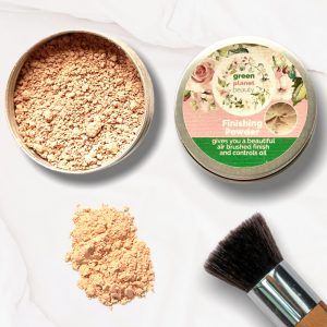Vegan Natural Mineral Matte Finishing Refillable Tin