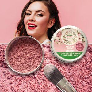 Vegan Natural Mineral Blusher Refillable Tin