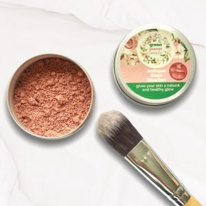 Vegan Natural Mineral Blusher Refillable Tin