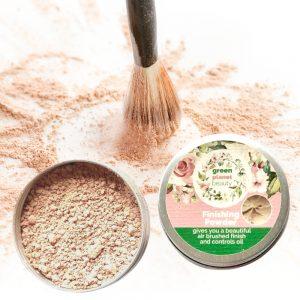 Vegan Natural Mineral Matte Finishing Refillable Tin
