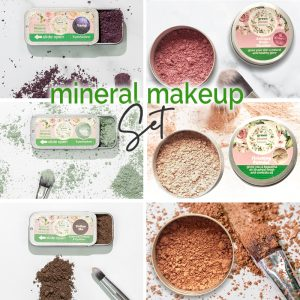 Plastic Free Mineral Makeup Set